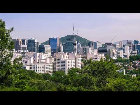 Seoul City South Korea 2017