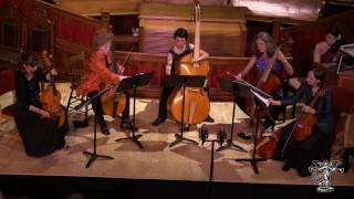 Bach - Passacaglia, BWV 582 (viol consort; live & unedited)