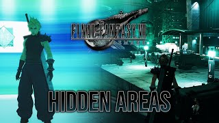 FINAL FANTASY VII REMAKE - 7 Hidden Areas