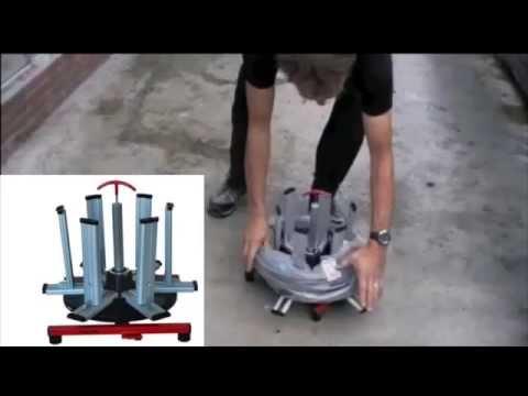 видео: Устройство для размотки кабеля из бухт haupa 143404