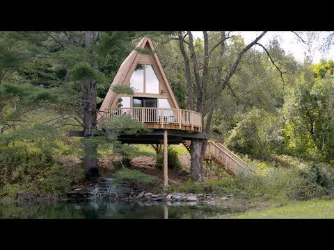 Pete Nelson Treehouse Tour Personal Spaces House Beautiful