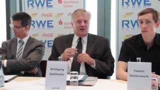 Pressekonferenz zum Indeland Triathlon am 16.06.2013