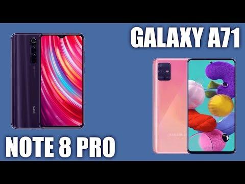 Samsung Galaxy A71 vs Redmi Note 8 Pro. 🥇 Кто на первом месте?