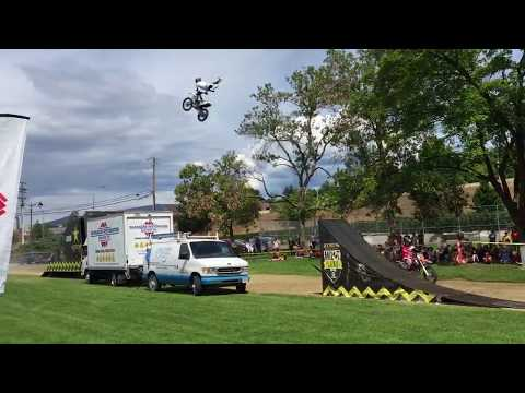 Extreme Motocross Demonstrations With Reagan Sieg In Vernon 2019