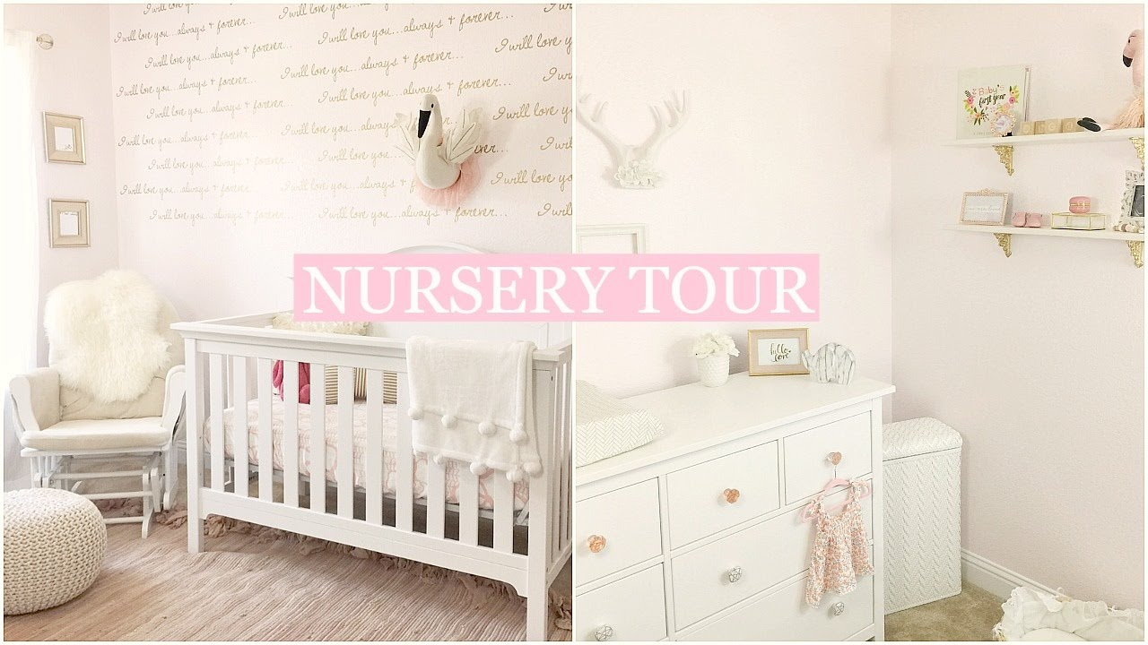 BABY GIRL NURSERY TOUR | Tara Henderson - YouTube