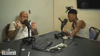 Boonk passes out LIVE on the No Jumper podcast