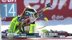 Linn Persson  Women 7,5km Sprint in Antholz 2016