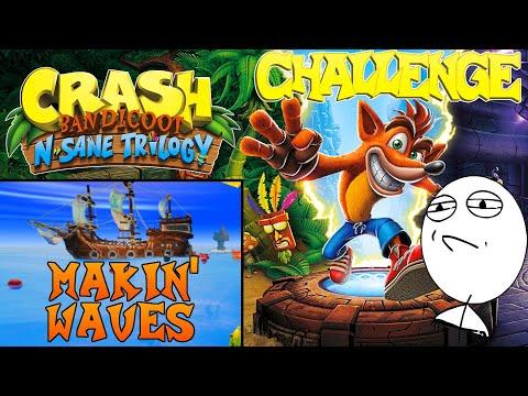 Let's Challenge Crash Bandicoot N. Sane Trilogy (Makin' Waves): Platin-Relikt | 0:56:23