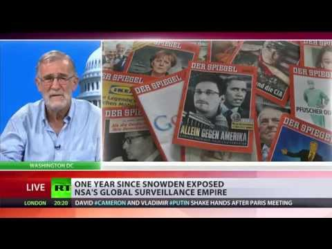Snowden risked everything, survived, now in 'safest place on globe' - Ray McGovern
