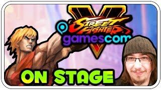 STREET FIGHTER 5 ON STAGE - DIE WILDE HILDE! - GAMESCOM 2015 - Dhalucard