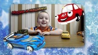 Монстр Трак Пикапы с игрушками Киндер Сюрприз Дети Видео