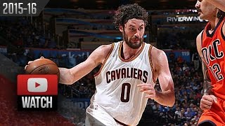 Kevin Love Full Highlights at Thunder (2016.02.21) - 29 Pts, 11 Reb