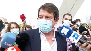 """Mañueco: """"Queda claro que Casado es el presidente que España necesita ya"""""""