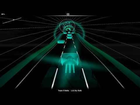 Three 6 Mafia - Lick My Nuts (played in Audiosurf)