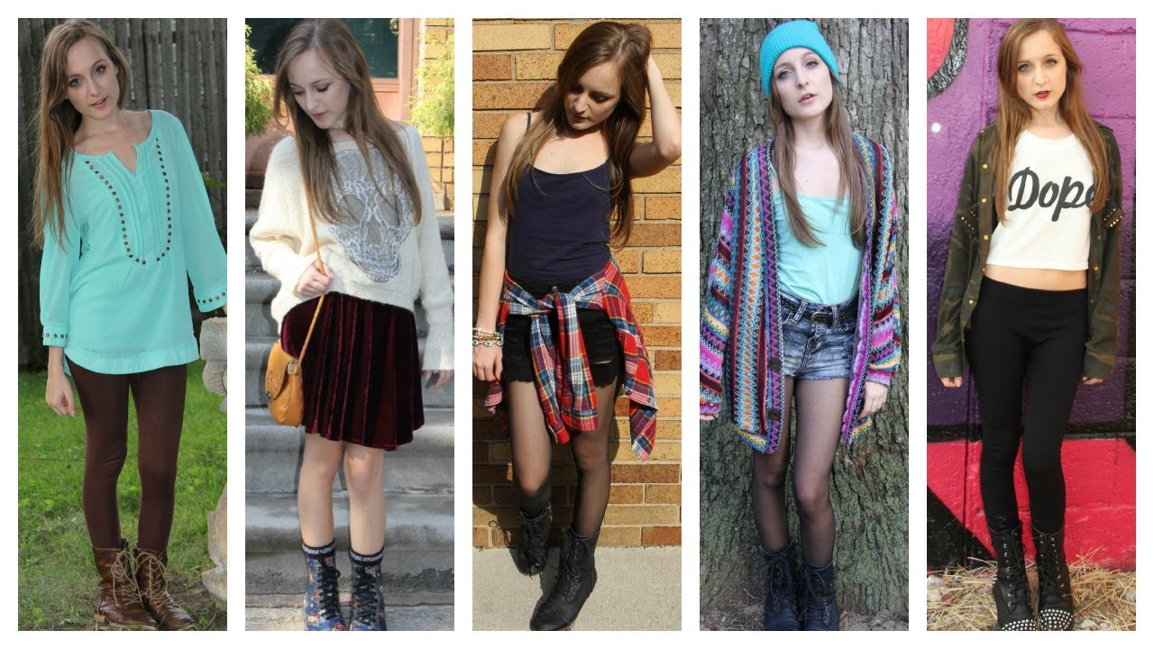 Fall cute outfits with combat boots photo recommend dress for everyday in 2019