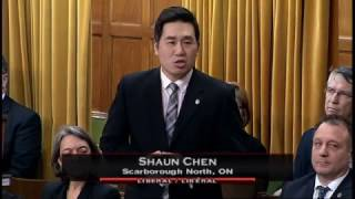 MP Shaun Chen - Statement on Nanjing Massacre - Dec 12, 2016