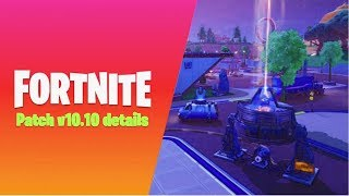Fortnite Xbox One Live - New Update Countdown 10.10 Patch - (Fortnite Update Live)
