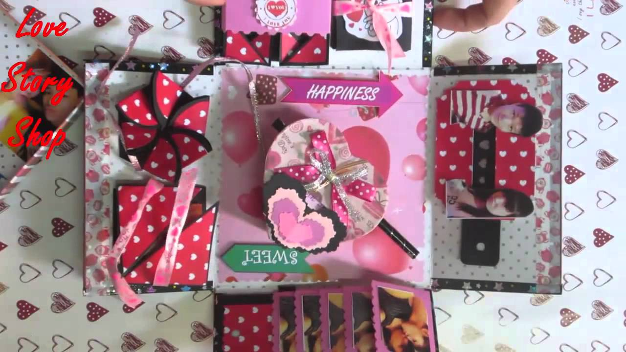 Love Box Exploding Box Explosion Box Happy Valentine 2 Van