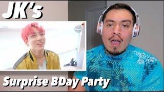 [ENG SUB] JK's Surprise Birthday Party - BTS (방탄소년단) - Bangtan Bomb REACTION