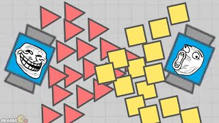 Diep.io 200,000 Highest Score Challenge! (New Agar.io / Slither.io Game)