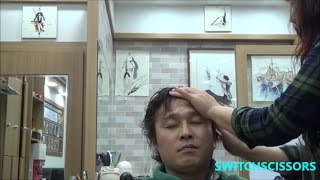 scalp and head massage