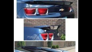 PhastekPerformance.com - 2010-2013 Camaro Coupe/Convertible ABS Plastic OEM Quality Spoiler