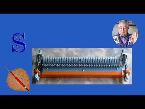 Видео уроки вязания на машинке ивушка