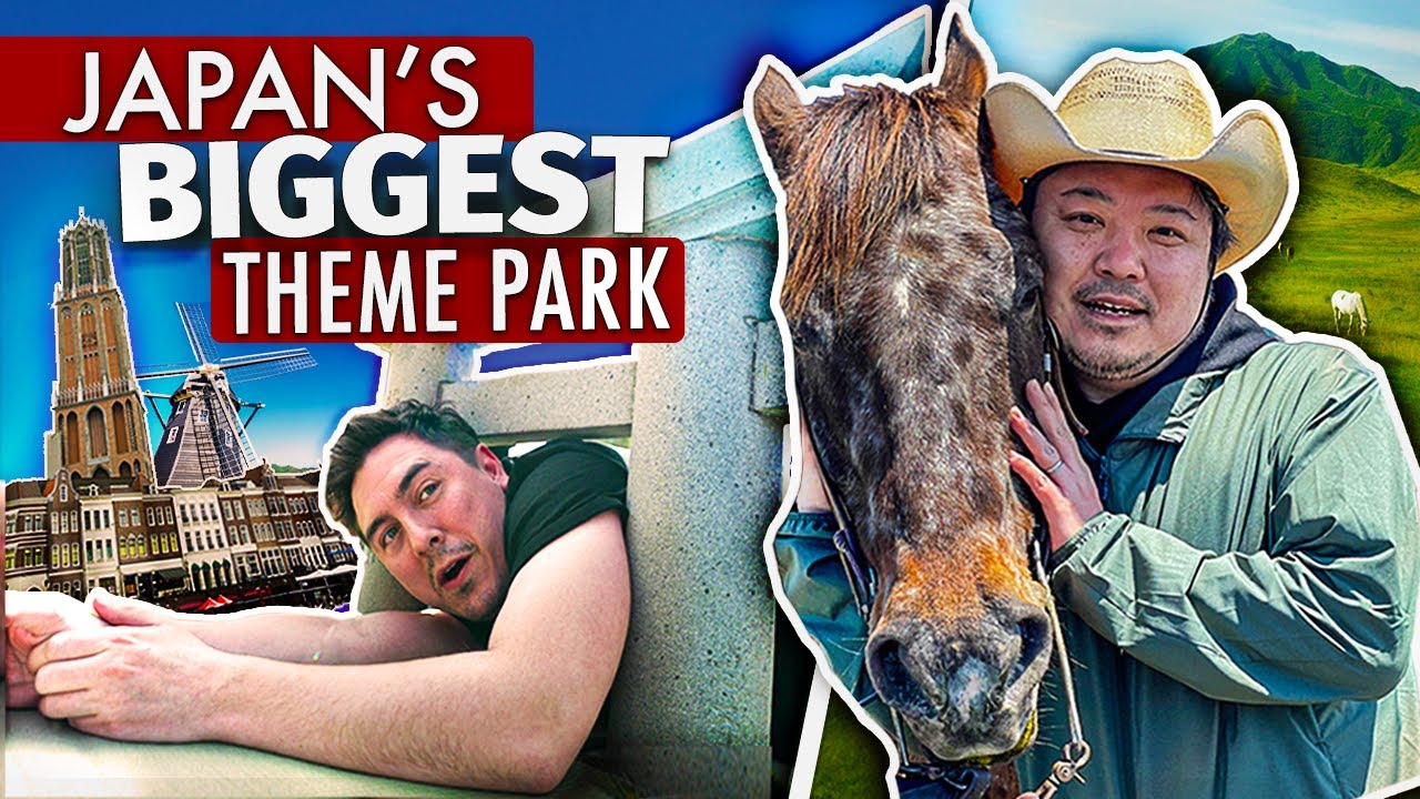 I Stayed OVERNIGHT at Japan's BIGGEST Theme Park