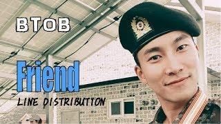 BTOB - FRIEND Line Distribution