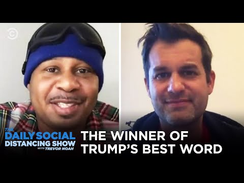 The Winner of the Trump's Best Word Bracket | The Daily Social Distancing Show