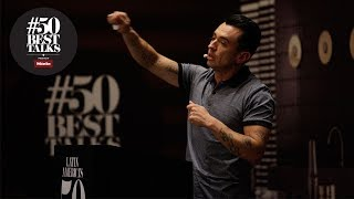 Édgar Núñez of Sud 777 on cooking with insects at #50BestTalks