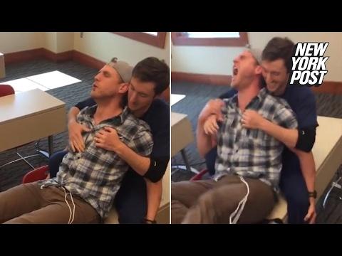 Labor pain machine destroys a man in seconds