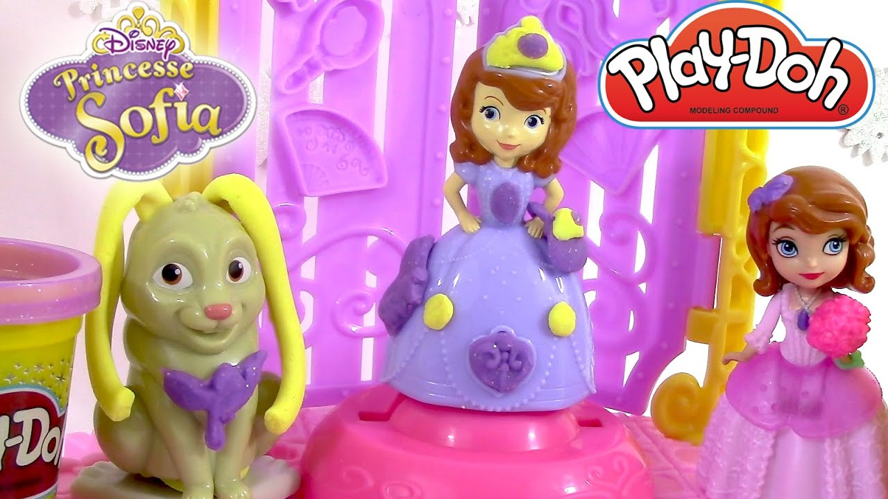 Pate A Modeler Princesse Sofia Et Clovis Play Doh Disney Princesses
