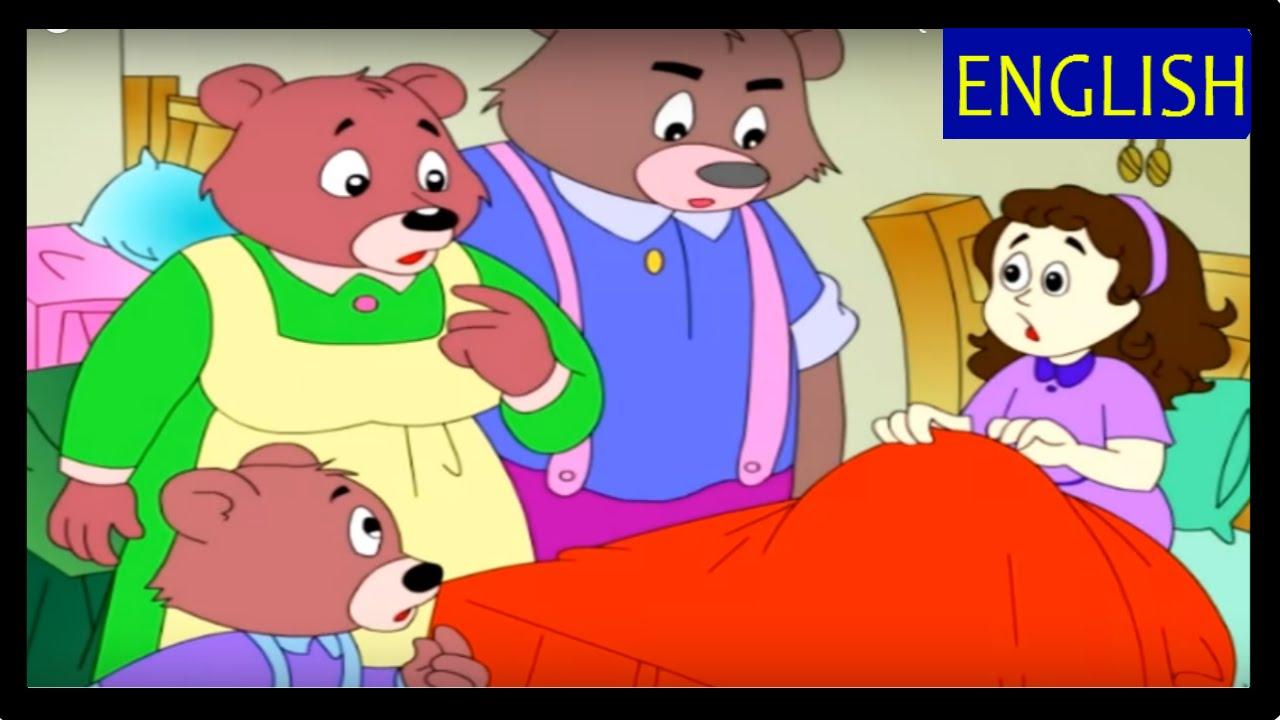 Uncategorized The 3 Bears Story goldilocks and the three bears full story hd fairy tales for children bedtime stories kids