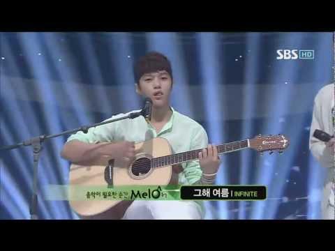 INFINITE [그 해 여름] @SBS Inkigayo 인기가요 20120701