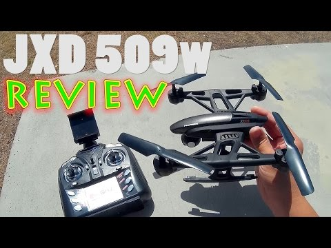 JXD 509w Pioneer UFO Wifi FPV Review & Flight (Gearbest)