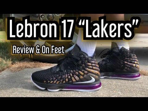 "Lebron 17 ""Lakers"" Review / On Feet"