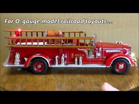 Packard fire truck