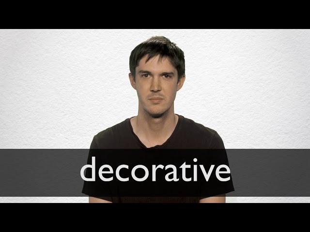 Decorative Synonyms Collins English Thesaurus