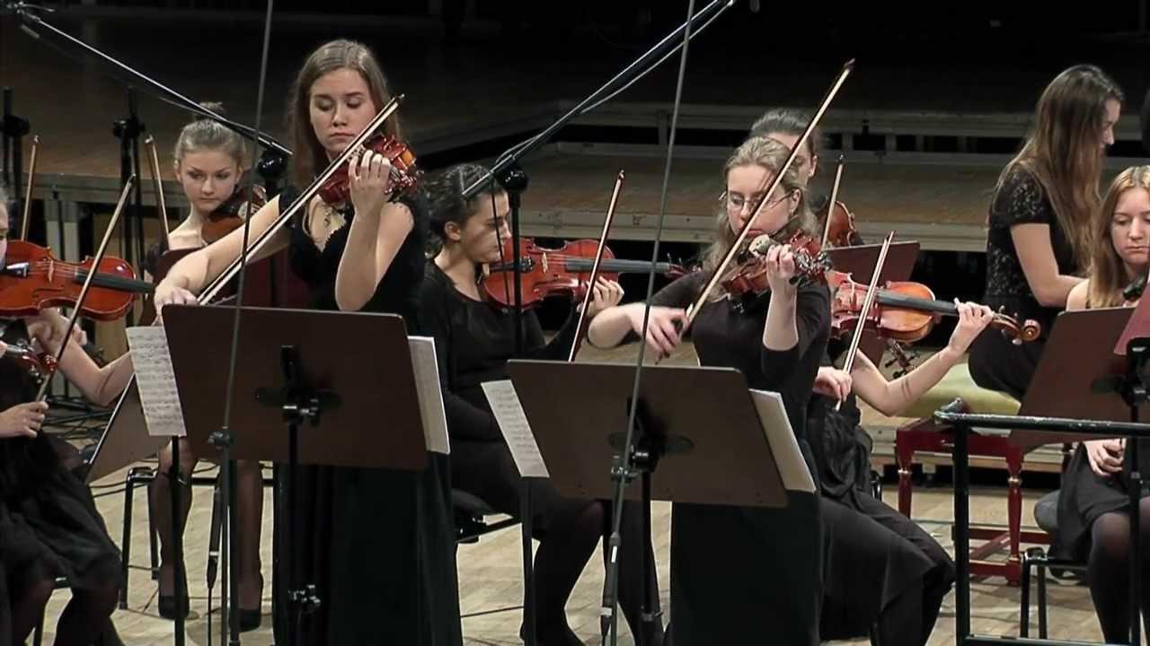 J. S. Bach - Double Violin Concerto in D minor BWV 1043 Krakowska MÅ'oda Filharmonia