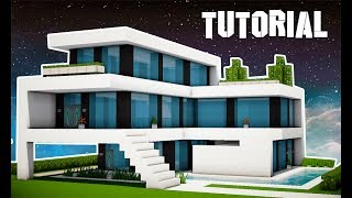 ⭐️Minecraft Tutorial : MANSÃO SUPER MODERNA (MANYACRAFT)⭐️