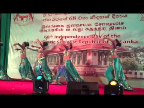 Independence Day of The  Democratic Socialist Republic of Sri Lanka