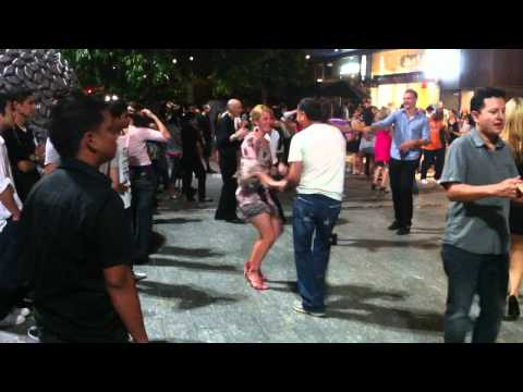 Enci's Express Adventure Across Australia - Brisbane Salsa Dancing