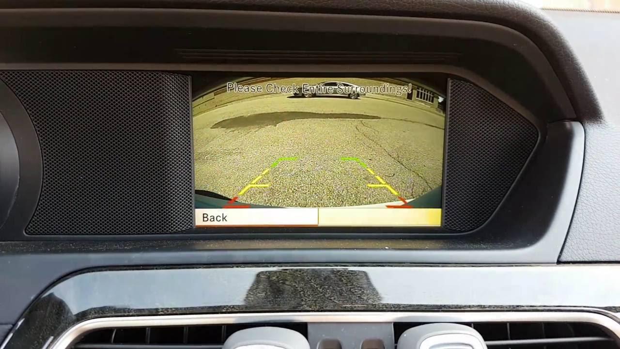 Installation adding backup camera to 2013 mercedes c class for Mercedes benz glk350 backup camera