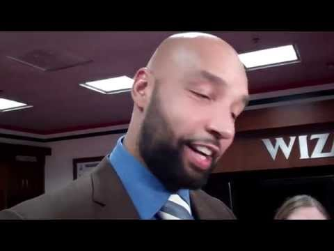 Post-Game Drew Gooden - Wizards vs Bucks - 11.1.2014 - Truth About It.net
