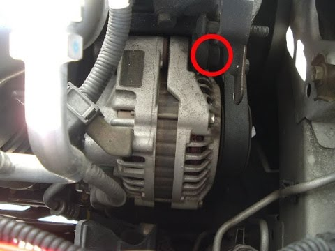 89 Honda Civic Wiring Diagram 12v Switch How To Replace An Alternator On A 2001 - Youtube