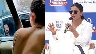 Kajol's Unexpected Response on People Throwing Garbage out of Car