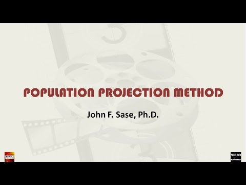 Local Population Projection with Exponential and Logarithmic Models