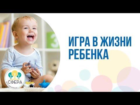 Игра в жизни ребенка (фрагмент вебинара Центра образования СФЕРА)