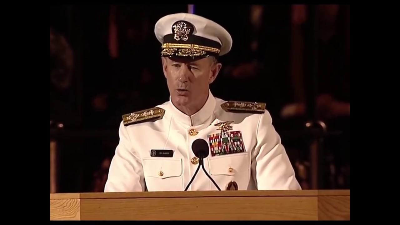 Naval admiral william h mcraven